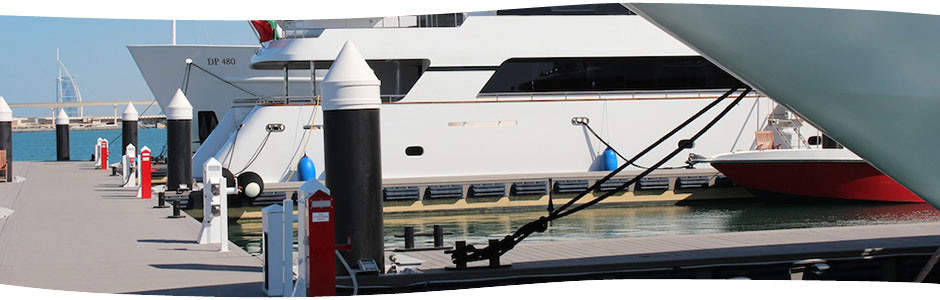 Accmar Equipment products installed at the Dubai International Marine Club